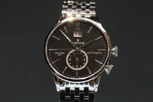 EDOX 62004 3 NIN Les Vauberts GMT Date