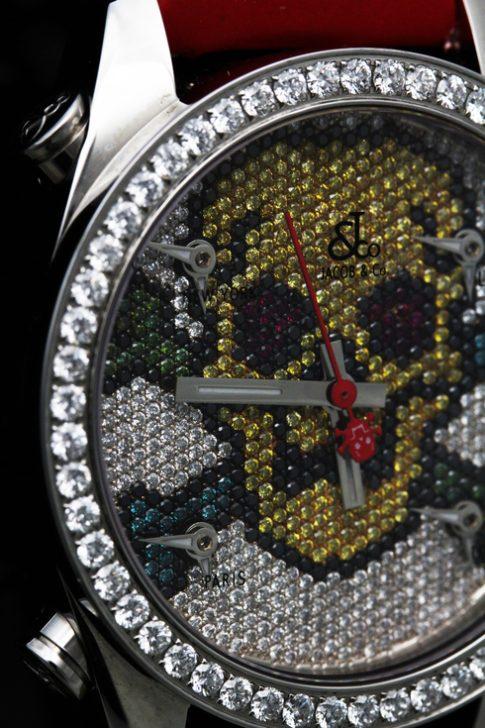 JACOB 5 Timezone Skull JC-MSKULL1D