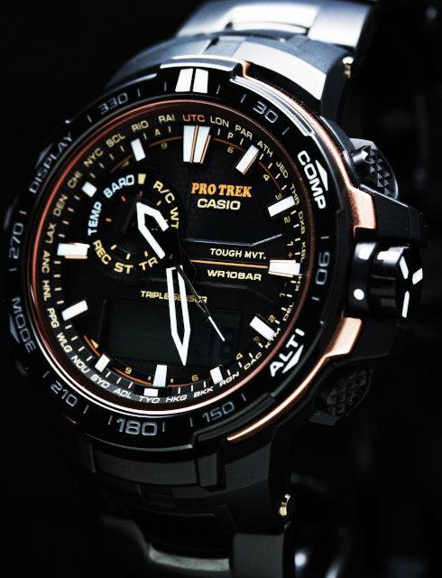 CASIO PROTREK PRW-S6000Y-1JF TOUGH SOLAR WATCH