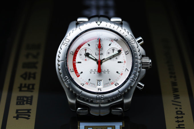 TAG HEUER Link Oracle Racing Limited Edition Ct1118