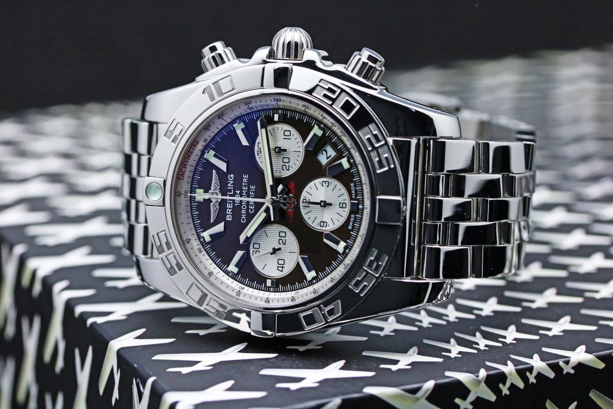 BREITLING Chronomat 44 A011 Q75 PA Automatic Mens Watch A011 Q75 PA