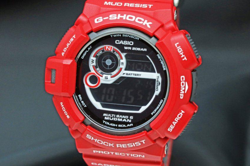 CASIO G-SHOCK MEN IN RESCUE RED GW-9300RD-4JF