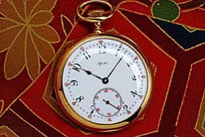 ティファニー 18金無垢 懐中時計