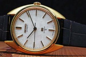 グランドセイコー 56GS Ref.5641-7005 1971年4月 18Kイエローゴールド 自動巻き オーバーホール済み