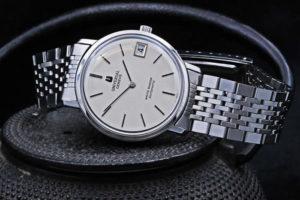ユニバーサル ジュネーブ ホワイトシャドウ マイクロローター Ref.867101 Cal.2-67 GF製ブレス