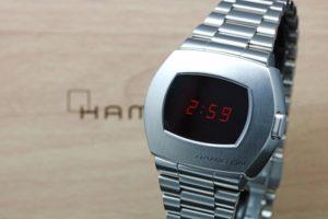 Hamilton PSR Pulsar Steel H52414130