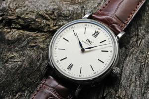 IWC(International Watch Company) ポートフィノ・ハンドワインド・ピュア・クラシック IW511102 シースルーバック 8日間パワーリザーブ