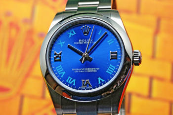 Oyster Perpetual 31 Blue Roman 177200